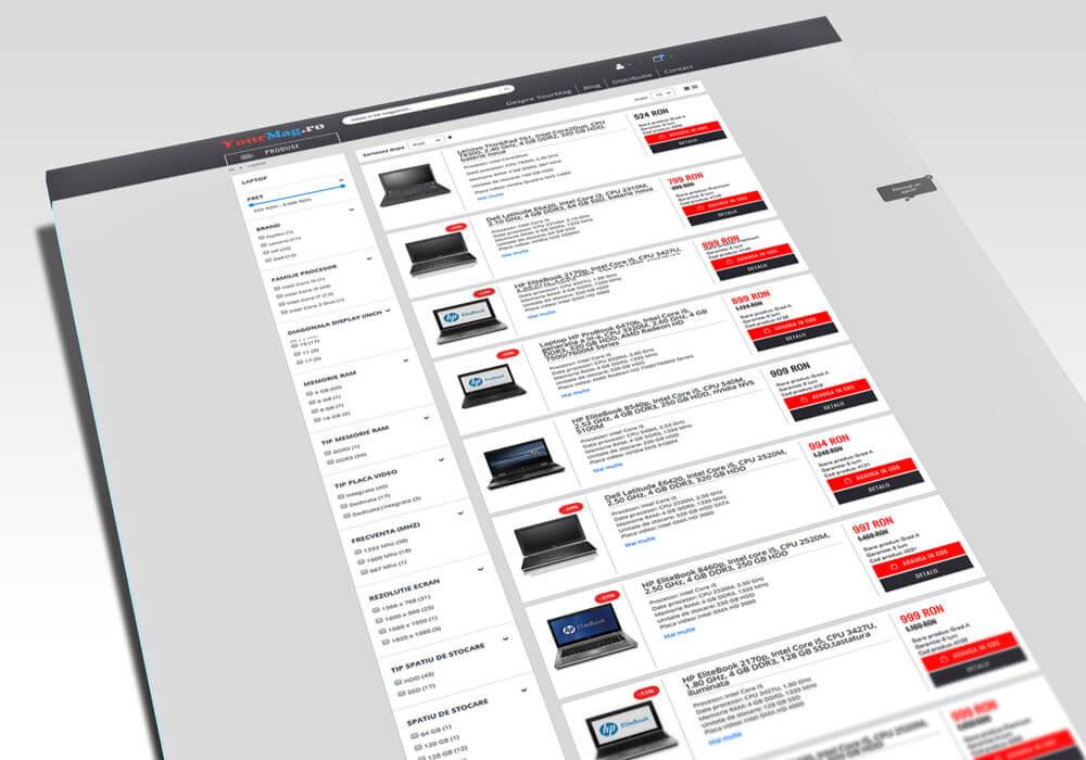 magento online store webdesign
