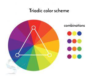 culori triade logo design