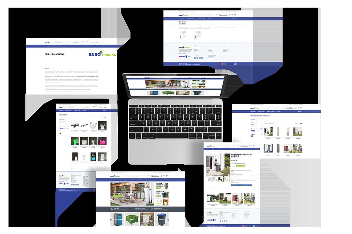 dezvoltare magazin online woocommerce pentru eurotrading